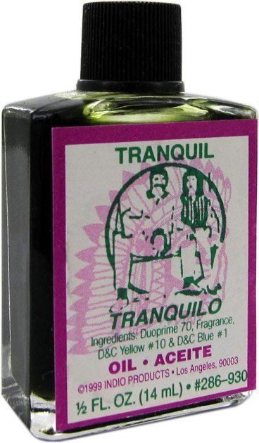 INDIO OIL TRANQUIL