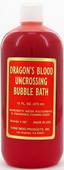 BUBBLE BATH DRAGON'S BLOOD UNCROSSING