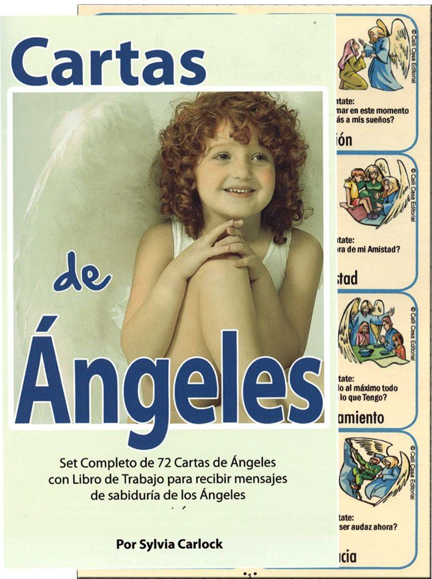 CARTAS DE ANGELES - EL SUPREMO METODO DE COMUNICACION CON LOS ANGELES SYLVIA CARLOCK (spanish only)