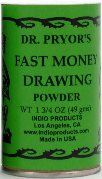 DR  PRYOR'S INCENSE POWDER FAST MONEY DRAWING