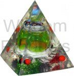 ACRYLIC PYRAMID SMALL 2''