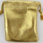 BAG METALLIC GOLD
