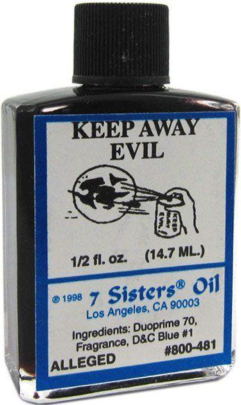 7 Sisters Oil Keep Away Evil