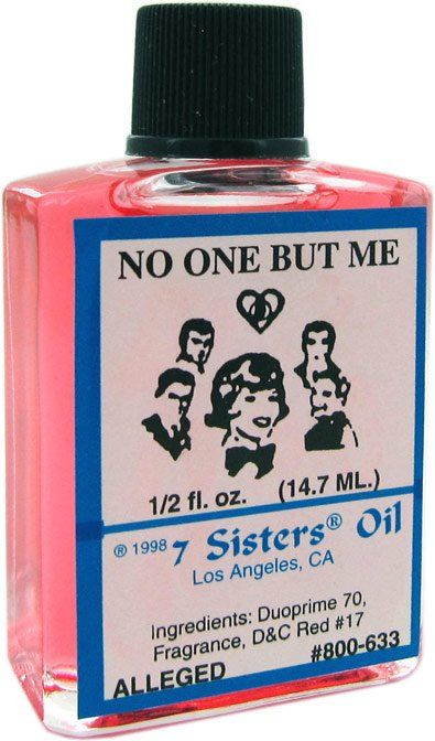 7 SISTERS OIL NO ONE BUT ME