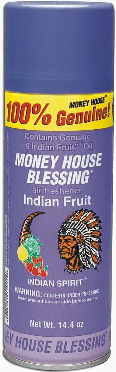 MONEY HOUSE BLESSING AEROSOL SPRAY INDIAN FRUIT