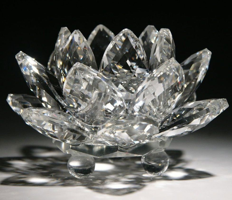 Lotus Flower Feng Shui Crystal
