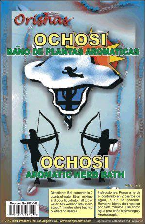 Orisha Aromatic Bath Herbs Ochosi
