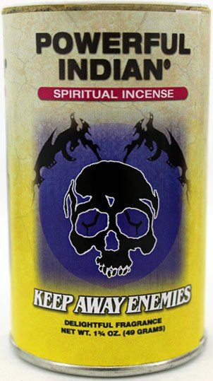 Indio Incense Powder Keep Away Enemies