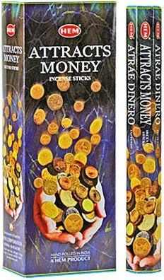 Hem incense sticks attracts money - What colour attracts money ...