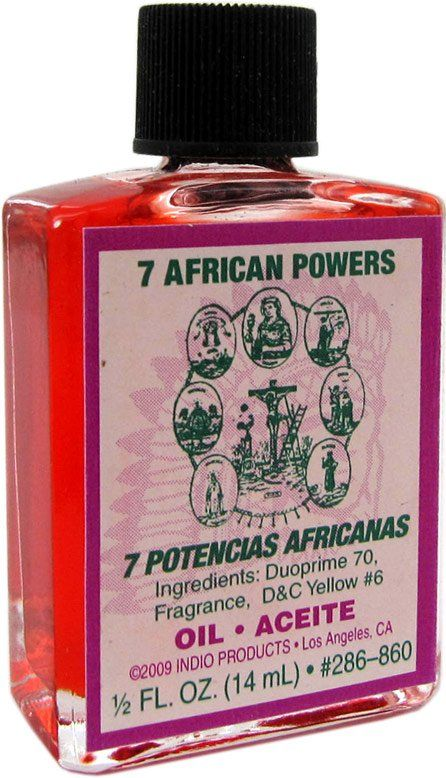 INDIO OIL SEVEN AFRICAN POWERS