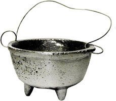 CAULDRON ALUMINUM 3 3/4'' WIDE