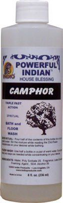 INDIO POWERFUL INDIAN SPIRITUAL BATH & FLOOR WASH CAMPHOR