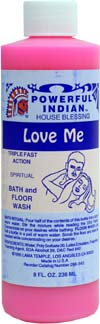 INDIO POWERFUL INDIAN SPIRITUAL BATH & FLOOR WASH LOVE ME