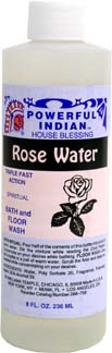INDIO POWERFUL INDIAN SPIRITUAL BATH & FLOOR WASH ROSE WATER
