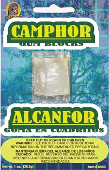 CAMPHOR ON CARD