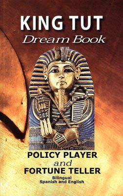 KING TUT DREAM BOOK POLICY PLAYER AND FORTUNE TELLER (Bilingual)