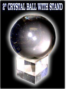 Feng Shui Crystal Ball 2 Inch