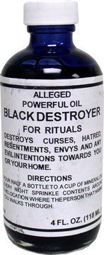 BLACK DESTROYER / NEGRO DESTRUCTOR OIL