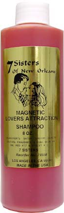 SHAMPOO 7 SISTERS OF NEW ORLEANS MAGNETIC LOVERS ATTRACTION