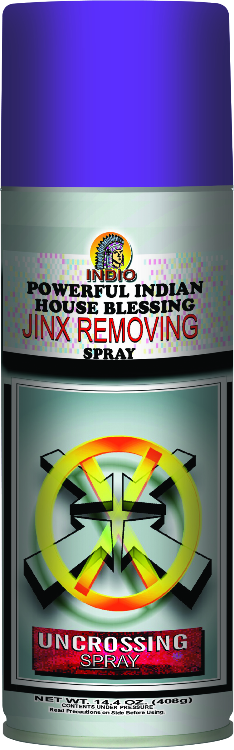 INDIO AEROSOL SPRAY JINX REMOVING/UNCROSSING
