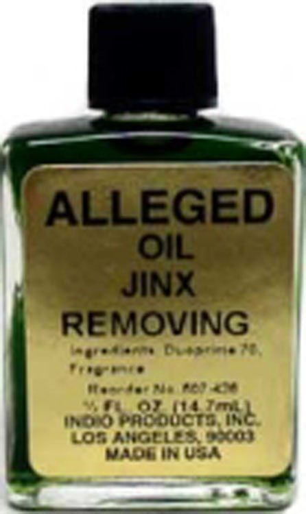 PSYCHIC OIL JINX REMOVING
