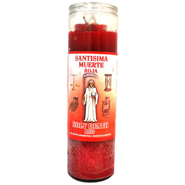Holy Death Red Candle - Cocktail