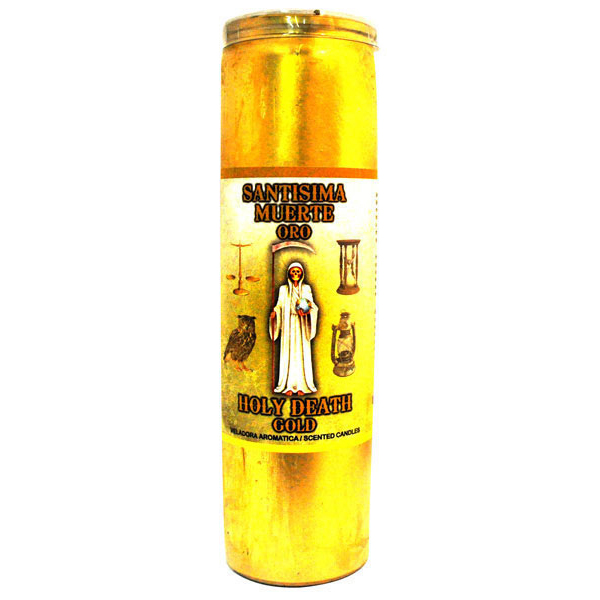 Holy Death Gold Candle - Cocktail