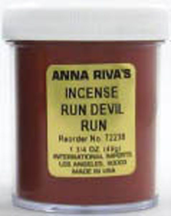 ANNA RIVA INCENSE POWDER RUN DEVIL RUN