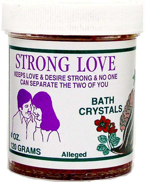 7 SISTERS BATH CRYSTALS STRONG LOVE